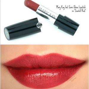 Mary Kay Gel Semi-Shine Lipstick Scarlet Red